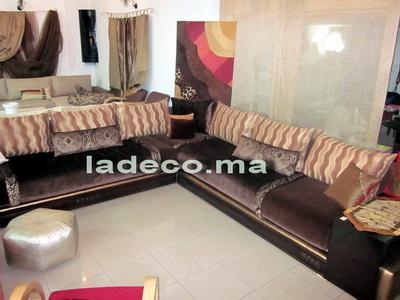 coin salon marocain 240 x 240 m personnalisable - Salon Marocain Contemporain